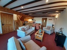 5 Holiday Cottage Living and Dining Area